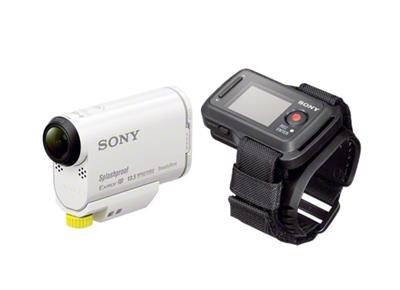 SONY AS100V ACTION CAMERA INCL REMOTE AND GO PRO ADAPTOR