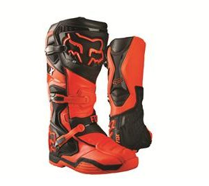 FOX COMP 8 BOOT ORANGE/BLACK