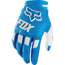 FOX DIRTPAW RACE GLOVE BLUE