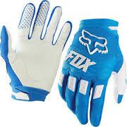 FOX DIRTPAW RACE GLOVE BLUE