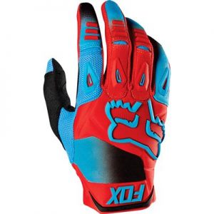 FOX PAWTECTOR RACE GLOVE BLUE/RED