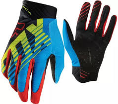 FOX SAVANT AIRLINE GLOVE BLUE/RED/GREEN/BLACK