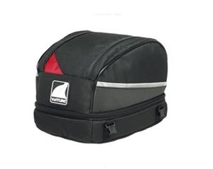 VENTURA EXPANDABLE SEAT BAG BLK 10/15LTR
