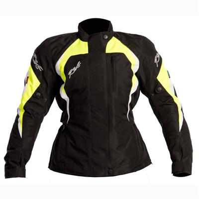 RST BROOKLYN LADIES JACKET FLURO YELLOW