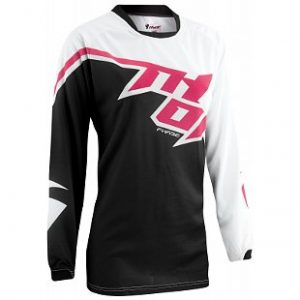 THOR PHASE TILT BLACK/PINK WOMENS JERSEY