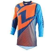 ONE IND YOUTH ATOM JERSEY LUX NAVY/CYAN