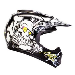 RXT A717C BONES KIDS BLACK/WHITE