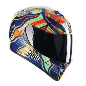 AGV K-3 SV ROSSI FIVE CONTINENTS XL