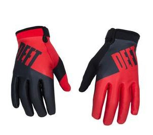 DEFT EQVLNT CHOICE RED/BLK GLOVE