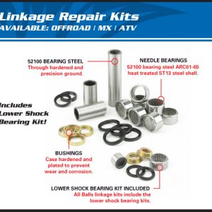 All Balls Linkage Kit
