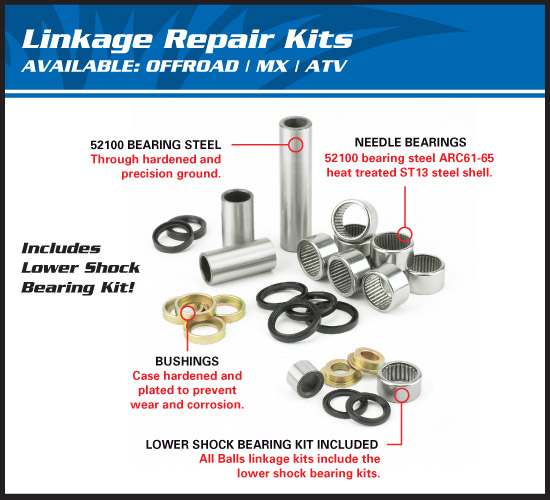 All Balls Linkage Kit