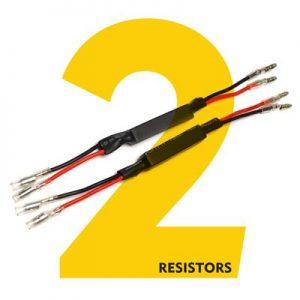 4207 CLICKNRIDE RESISTORS (PAIR)