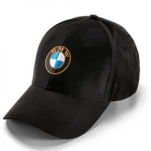BMW LOGO CAP BLACK