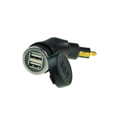 DUAL USB FOR DIN SOCKET 2AMP