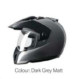 BMW ENDURO HELMET 63/64 XXL MATT GREY