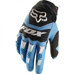 FOX DIRT PAW GLOVES BLUE