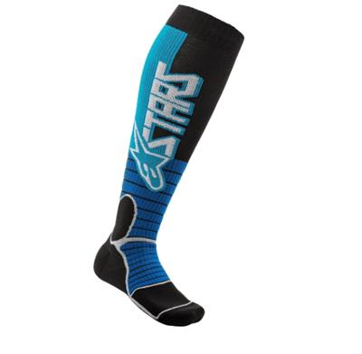MX PRO SOCKS Cyan Black /58 MEDIUM
